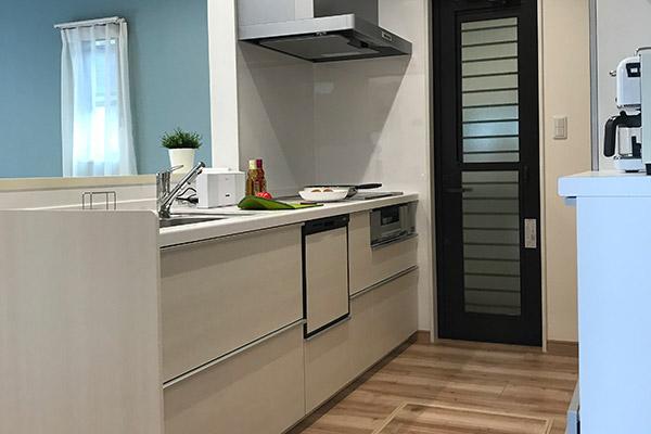 モデルハウス-キッチン