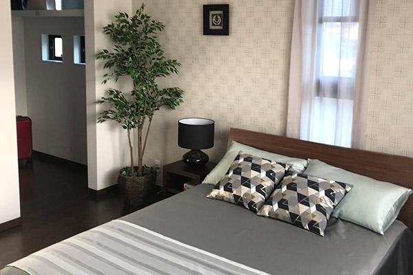 モデルハウス-ベッドルーム